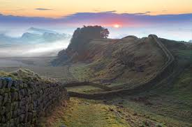Hadrian's Wall, Housestead Crags