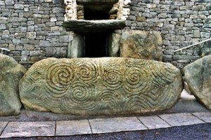Entrance Stone, Newgrange  County Meath