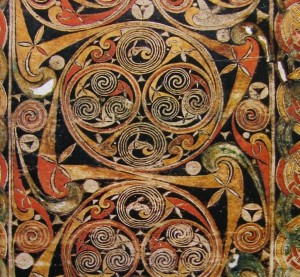 Spirals from the Book of Durrow